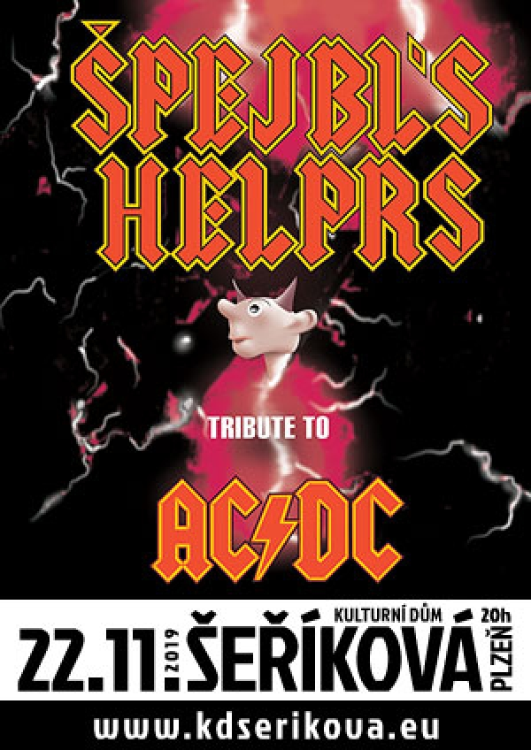 22. 11. 2019 / Špejbl's Helprs – Tribute to AC/DC