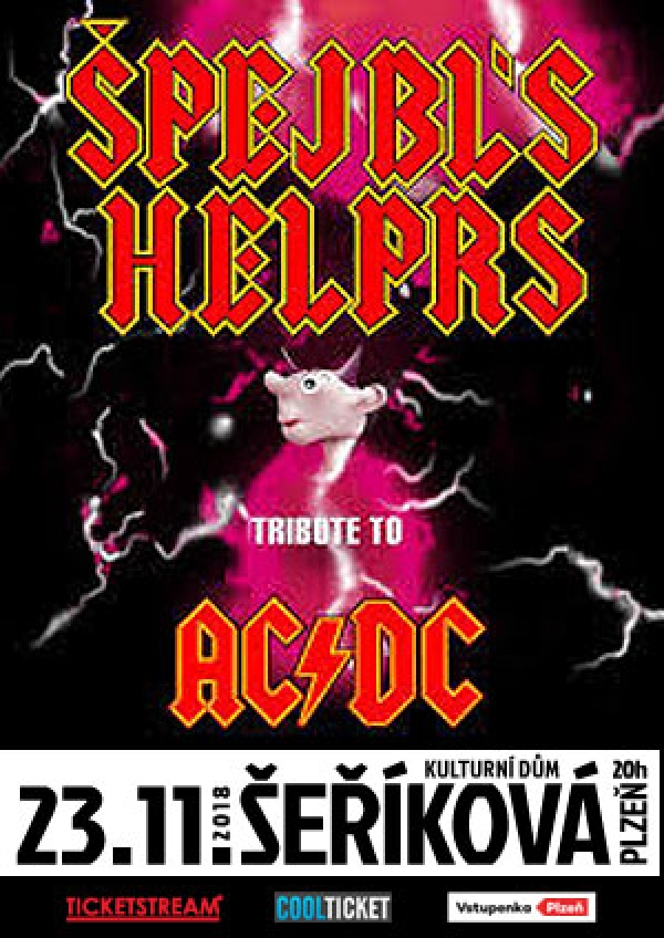 23. 11. 2018 / Špejbl's Helprs - Tribute to AC/DC