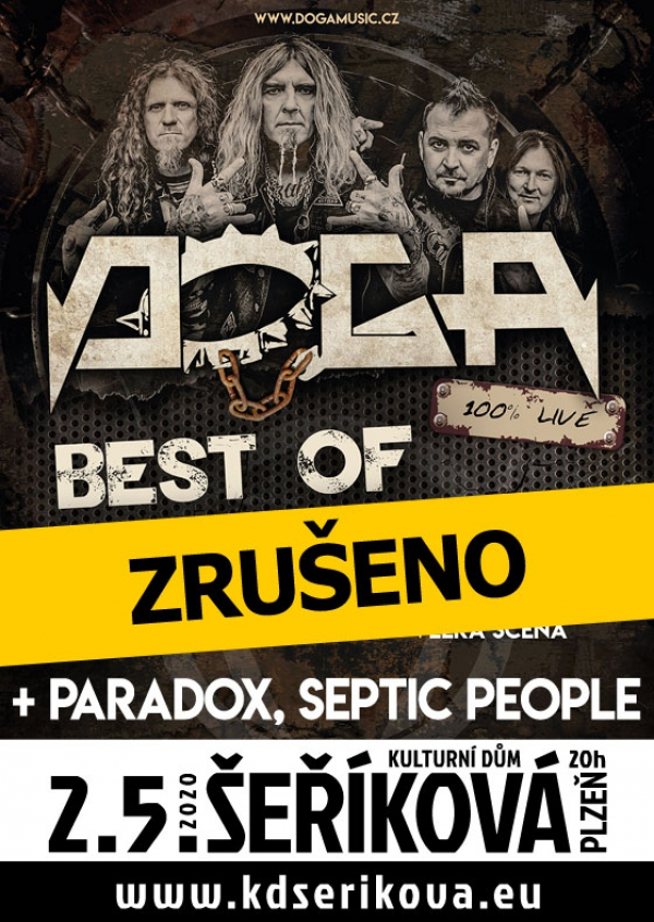 02.05. 2020 / Doga, host: Paradox, Septic People