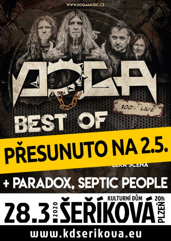 28. 03. 2020 / Doga, host: Paradox, Septic People