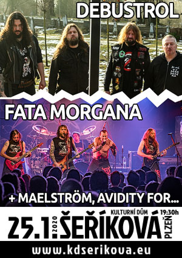 07. 12. 2019 / Metal Session vol. 2 - Törr, Fata Morgana, Excalibur, Asmodeus