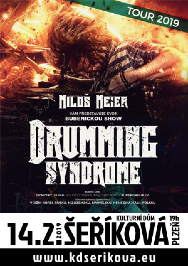 14. 02. 2019 / Miloš Meier – Drumming Syndrome
